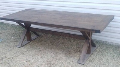 American Trestle Table