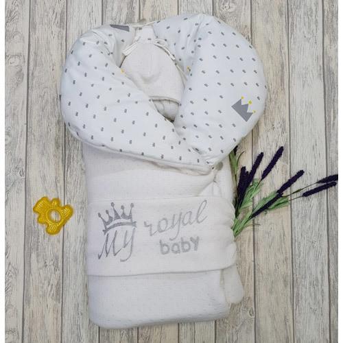 Комплект на выписку «My Royal Baby», лето, демисезон, зима.