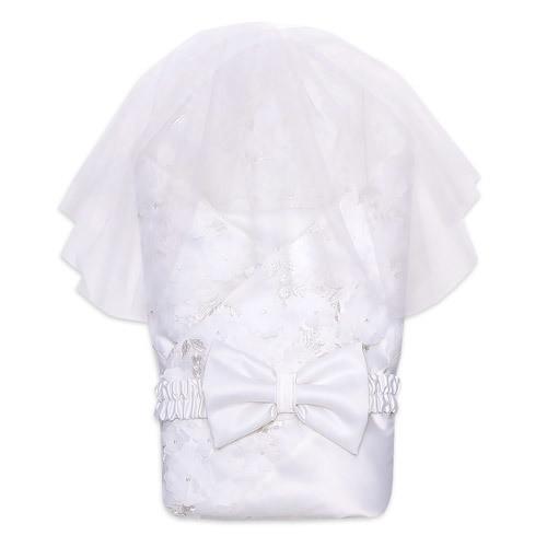 Одеяло на выписку JASMIN, лето, белый