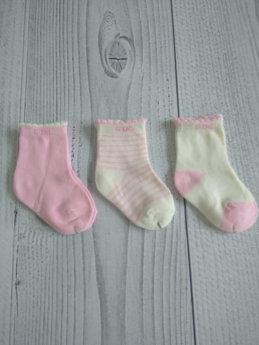 Носки детские хлопковые, для девочки