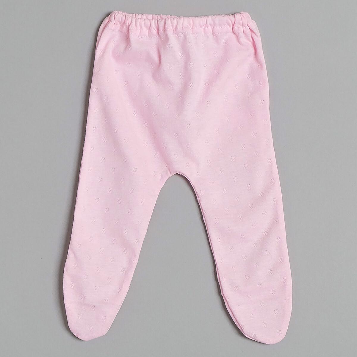 Ползунки на резинке АНТОШКА, летний тонкий трикотаж, розовый