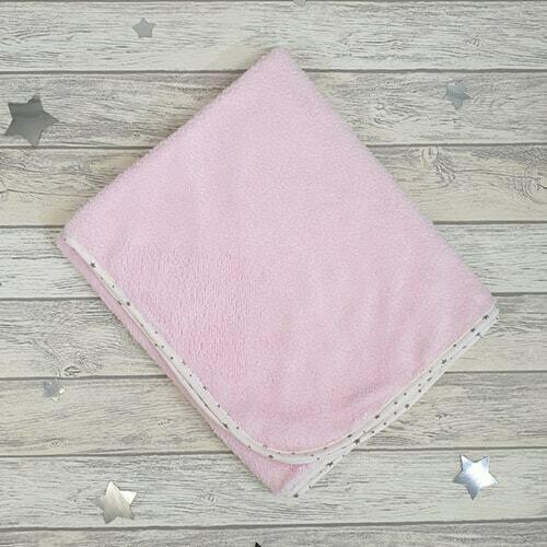 """Плед """"Плюшевые сны"""", розовый, 80х100"""