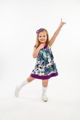 Платье НЕЗАБУДКА, фиолетовый