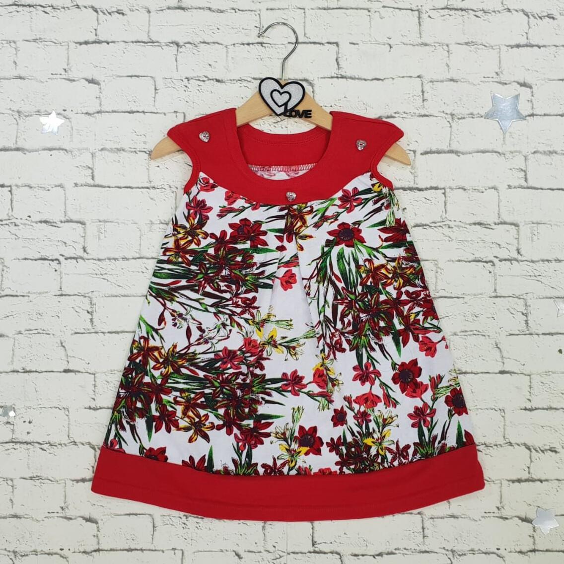 Платье НЕЗАБУДКА, красный