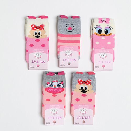 Носки хлопковые, для девочки