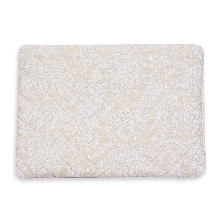 Подушка для новорожденного 40*60, кремовый