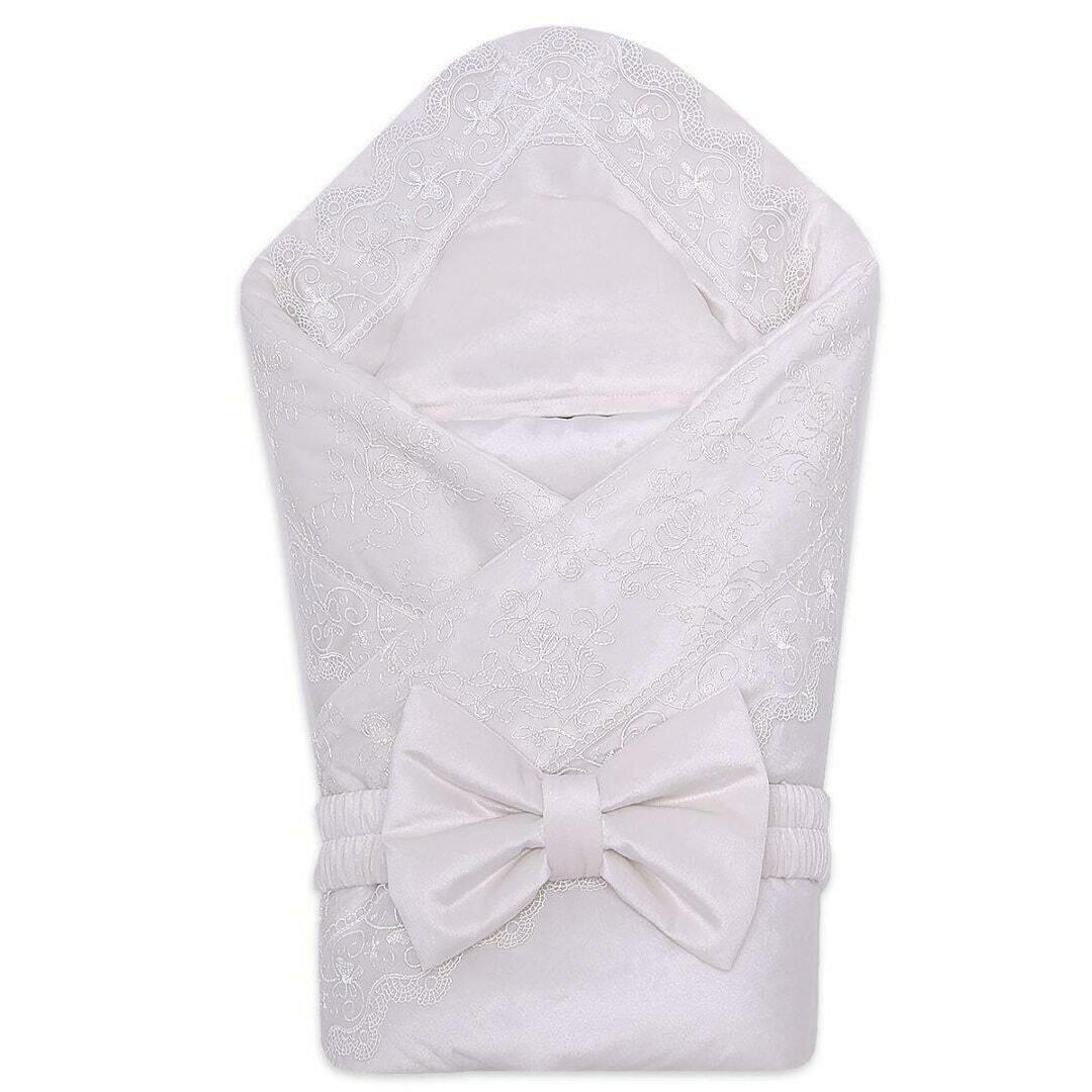 Комплект на выписку DOLCHEVITA, демисезон, молочный