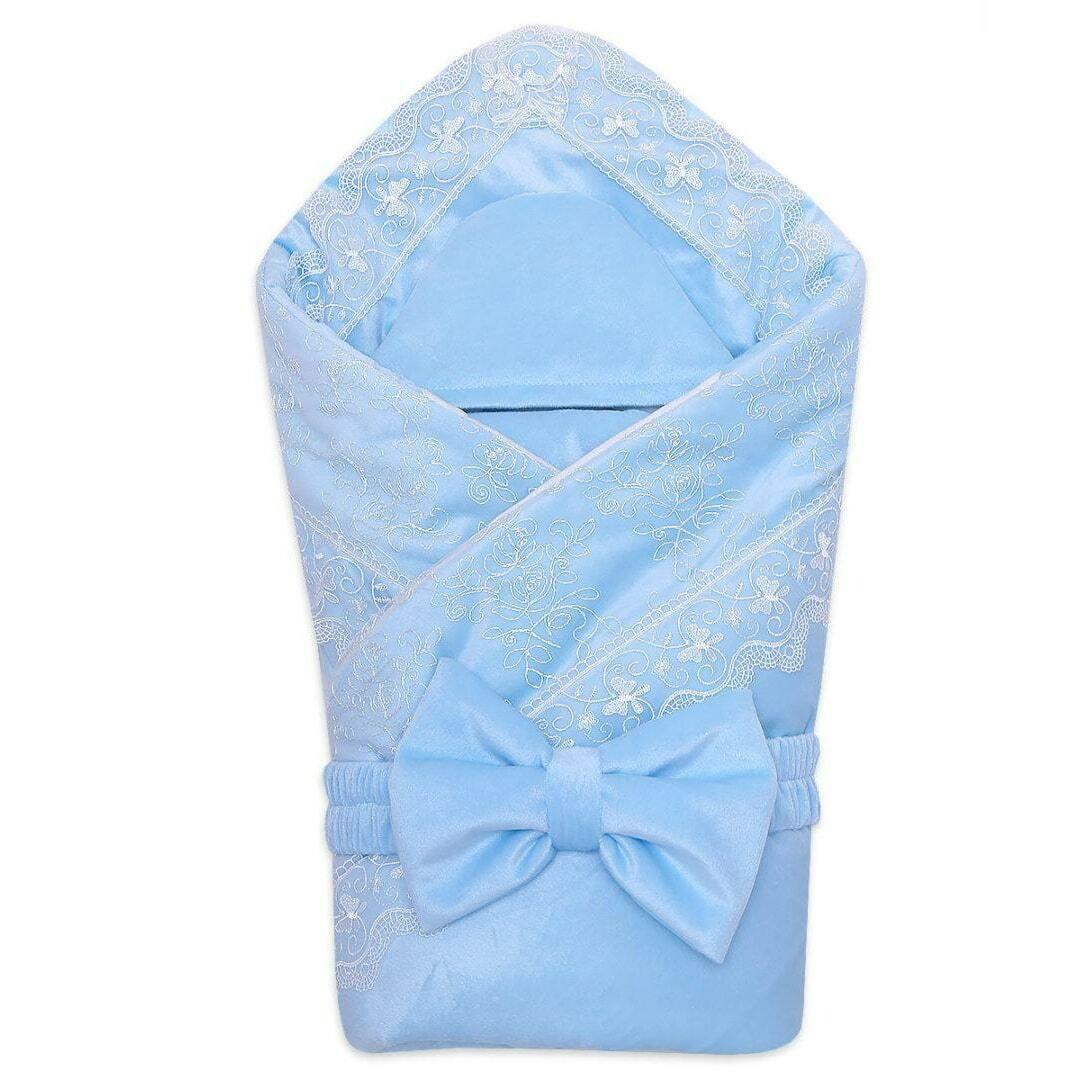 Комплект на выписку DOLCHEVITA, демисезон, голубой