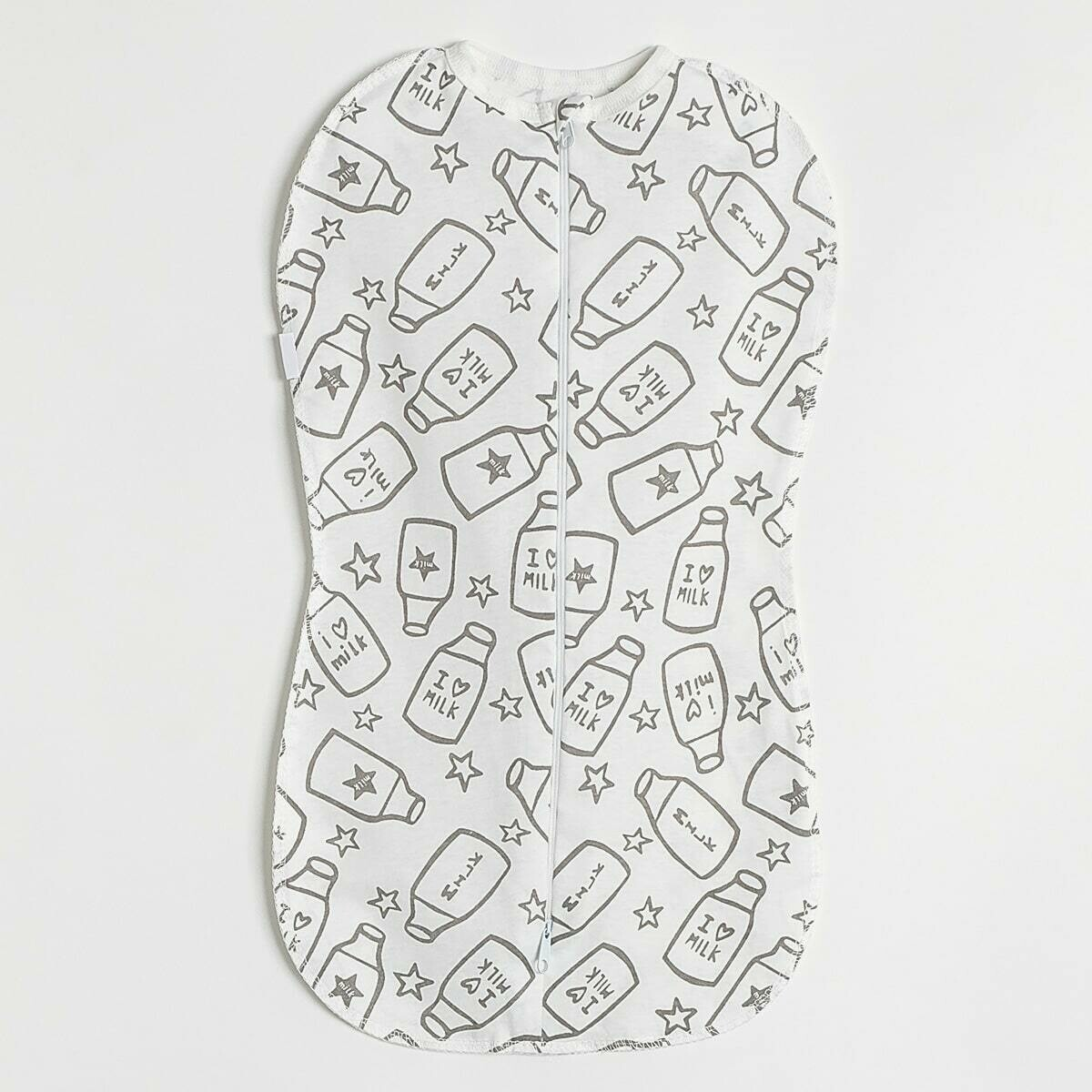 Спальный мешок-кокон, двойная молния, бутылочки