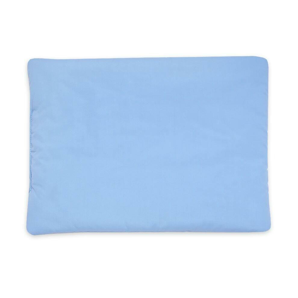 Подушка для новорожденного 30*40, голубой