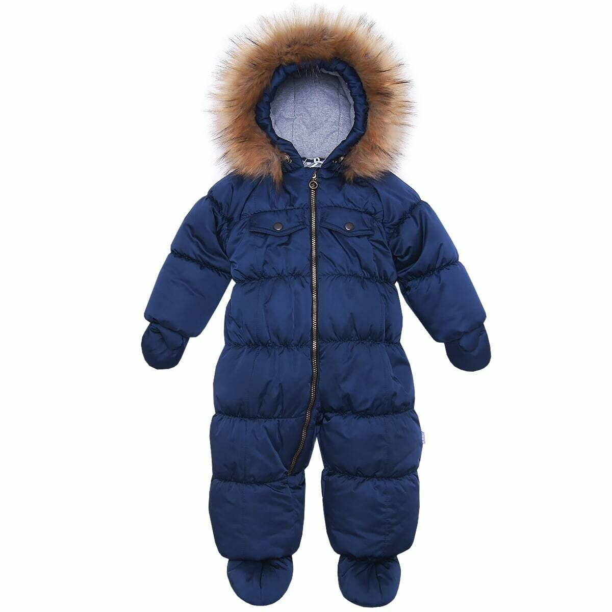 Комбинезон Аляска, зима, синий