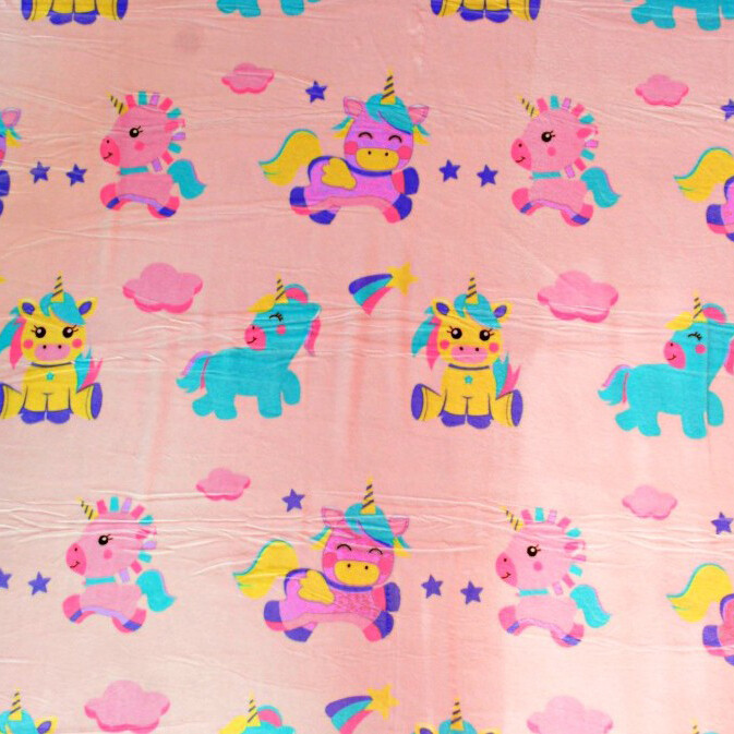 Одеяло-плед 100*124, розовый