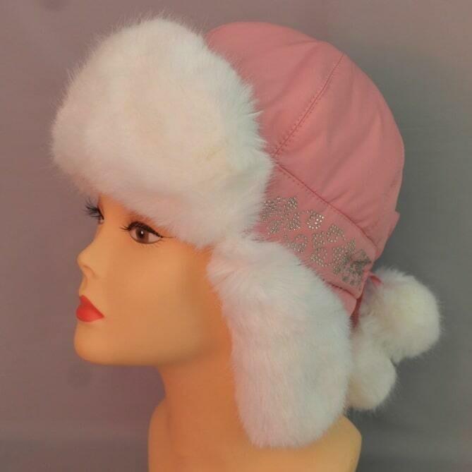 Зимняя шапочка ИРМА, светло-розовый