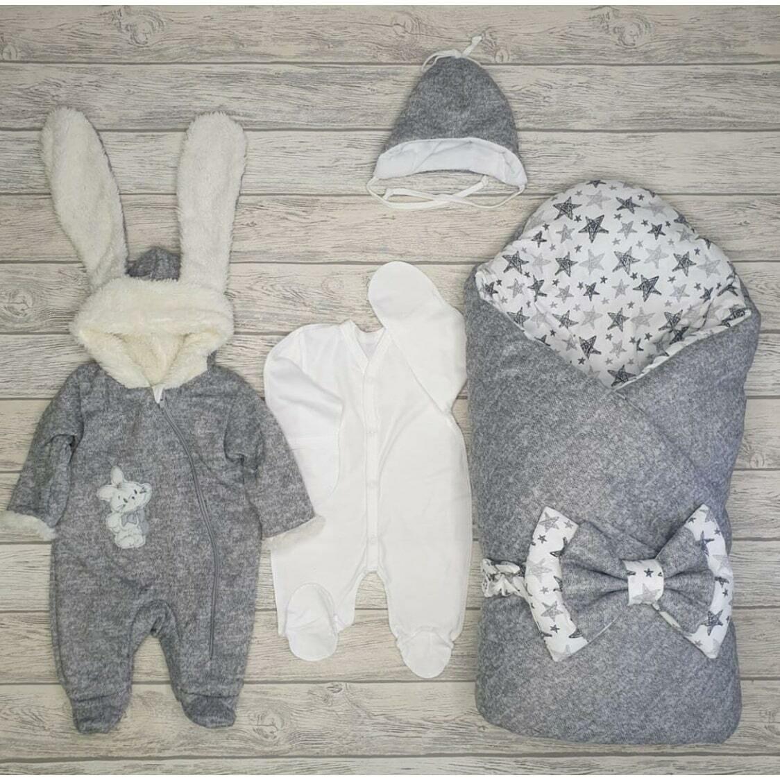 Комплект на выписку Tender Bunny, зима/деми