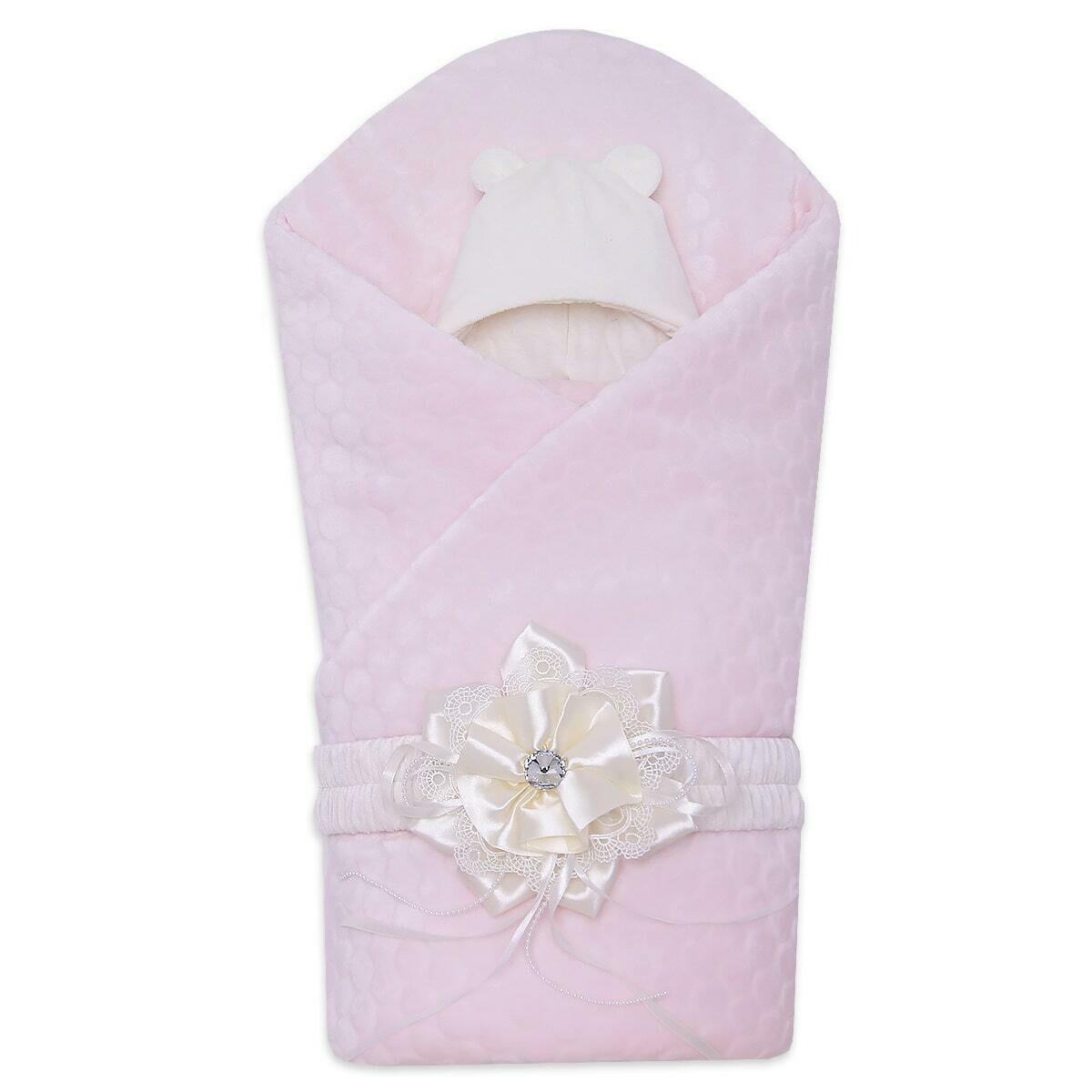 Комлект на выписку SYURPRIZ, демисезон, розовый