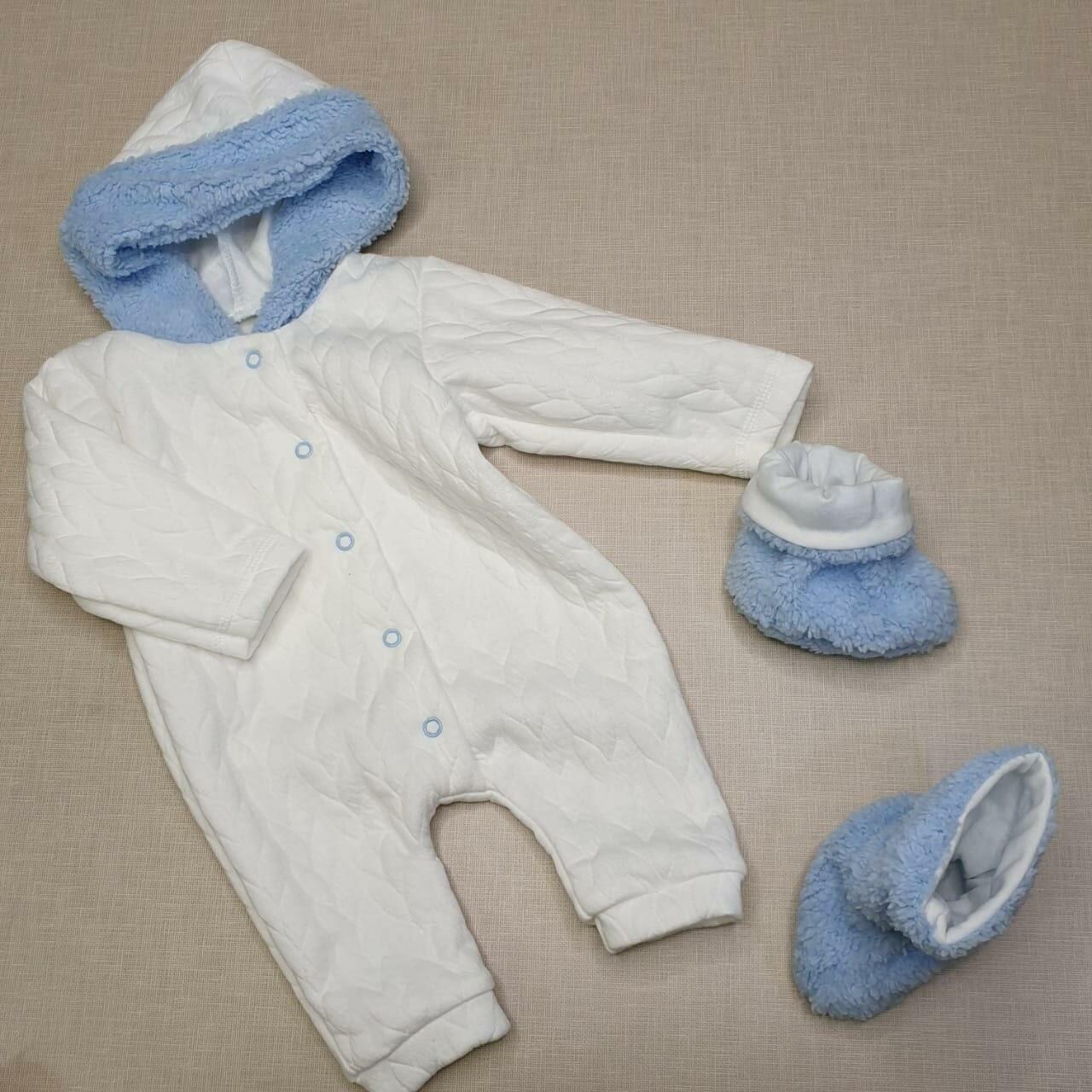 Комплект для малыша, голубой