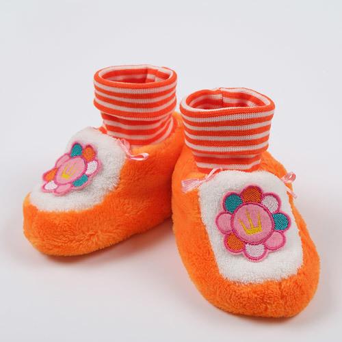 Башмачки ПРИНЦЕССА, оранжевый
