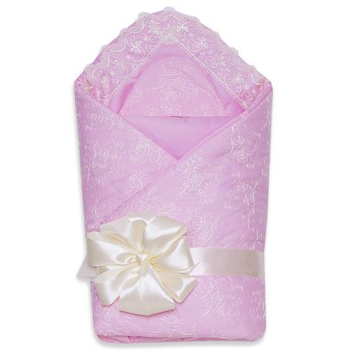 Комплект на выписку демисезон НЕЖЕНКА, розовый