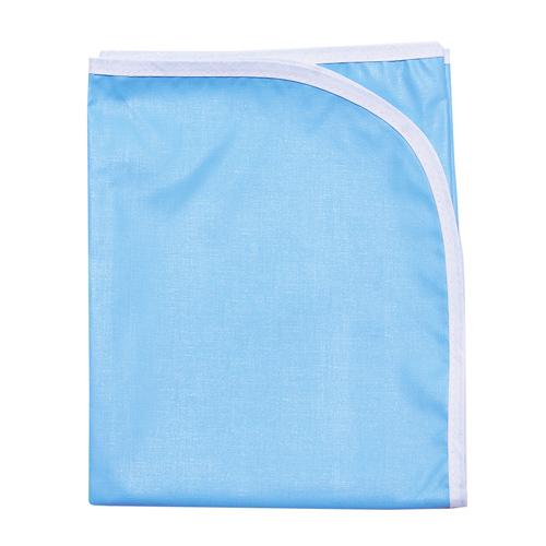 Клеёнка подкладная окантованная, 50х80, голубой