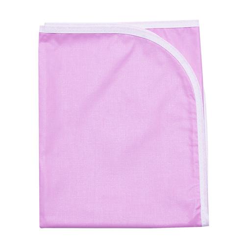 Клеёнка подкладная окантованная, 50х80, розовый