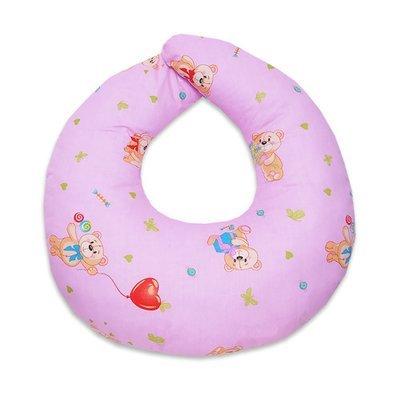 Подушка для кормления, розовый