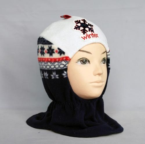 Шапочка-шлем для мальчика ФЛИНН, темно-синий