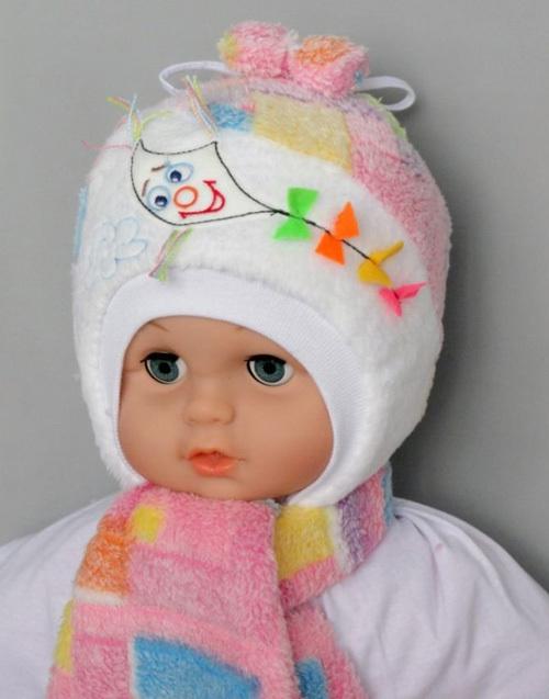 Комплект ВЕТА шапочка и шарфик