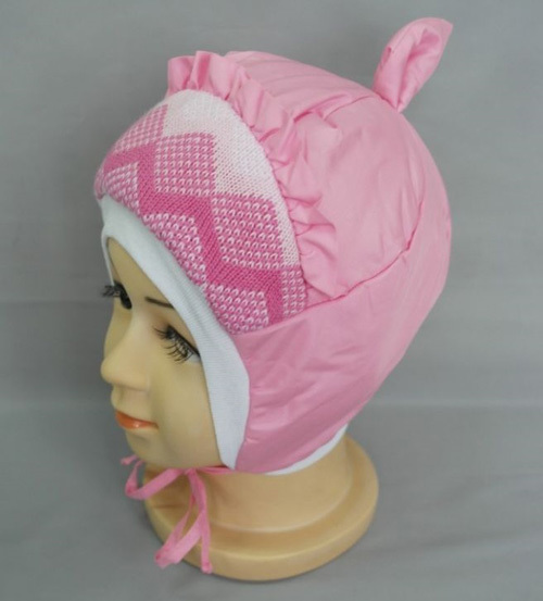 Шапочка для девочки ЛЕРА, розовый