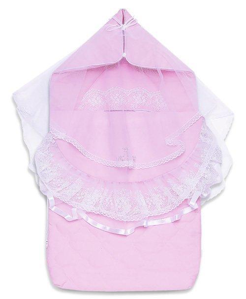 Комплект на выписку ПИОН, лето, розовый
