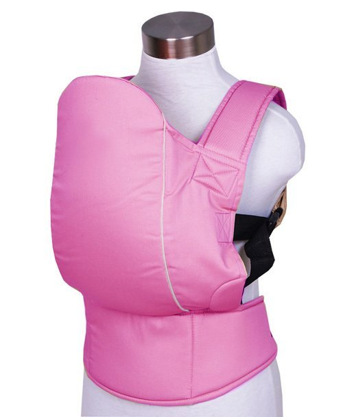 Кенгуру-слинг КЛАССИК, джинса, розовый