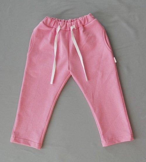 Брюки трикотажные, светло-розовый
