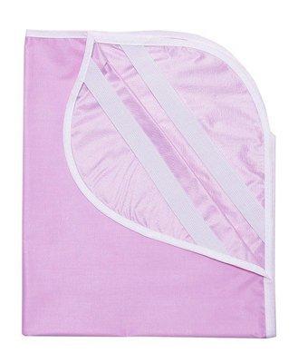 Наматрасник из клеенки 60х120, розовый
