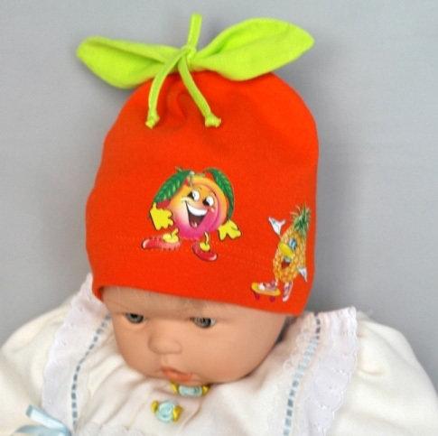 Шапочка ВИТАМИНКА, оранжевый