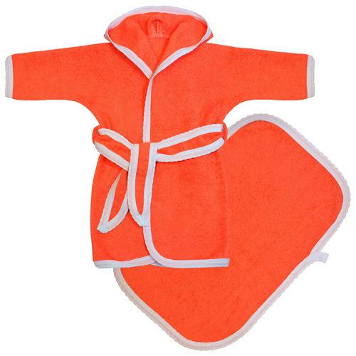 Махровый набор для купания: халат и полотенце