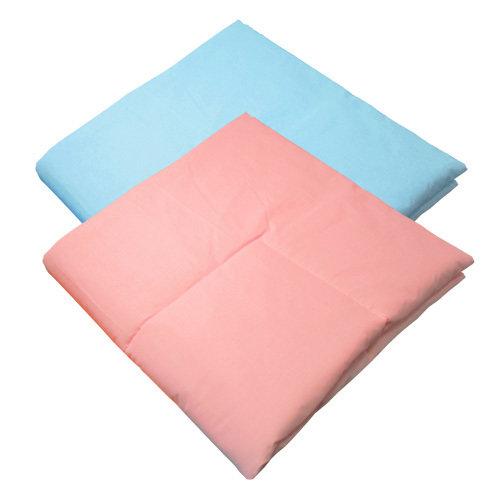 Одеяло в кроватку, однотонная бязь, холлофайбер (400г), 120х120