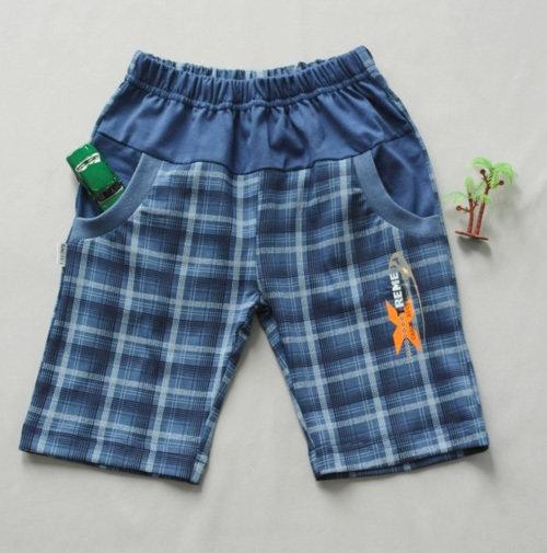 Шорты-бермуды для мальчика, синий