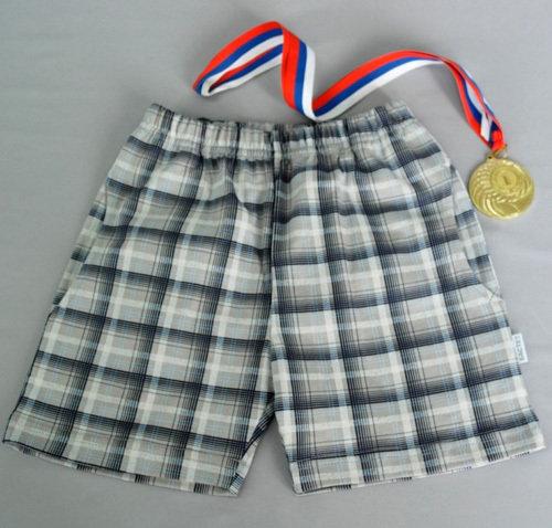 Шорты для мальчика с карманами, серый
