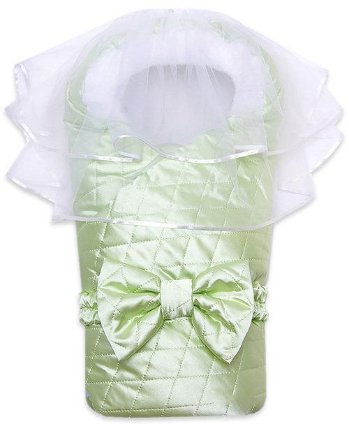 Комплект на выписку ЛЮБИМЧИК, демисезон, салатный