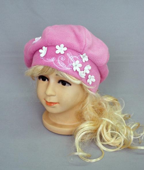 Беретик для девочки ЗАБАВА, светло-розовый