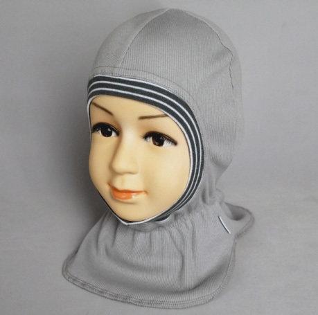 Шапочка-шлем КАСПЕР, серый