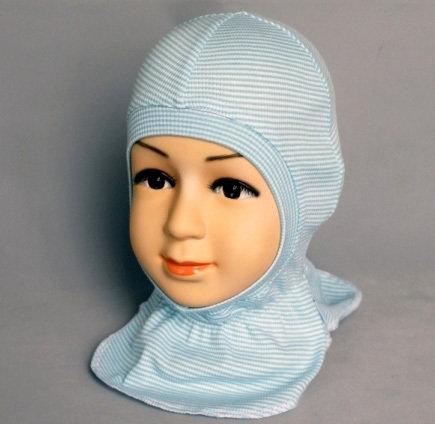 Шапочка-шлем КАСПЕР, голубой