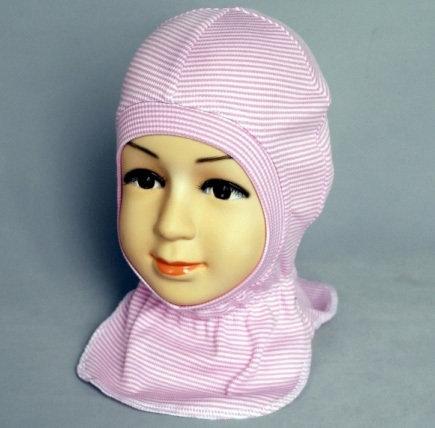 Шапочка-шлем КАСПЕР, розовый