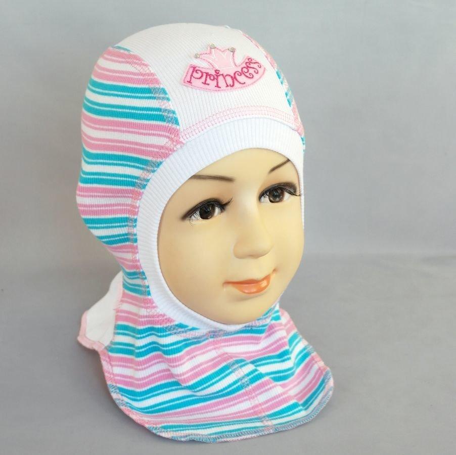 Шапочка-шлем КРОША Д, бирюзовый