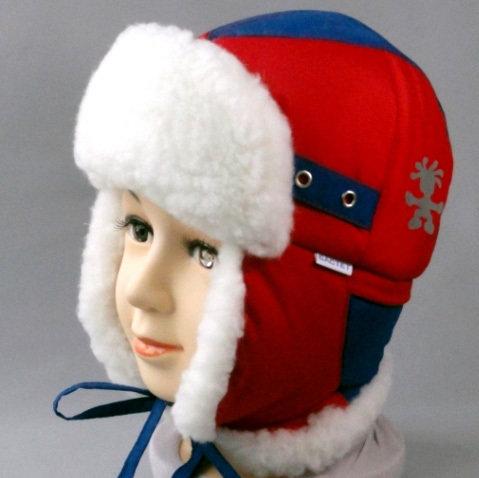 Зимняя шапочка ДЕНИСКА, красный