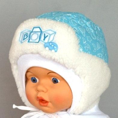 Зимняя шапочка ВИТАЛИК, бирюзовый
