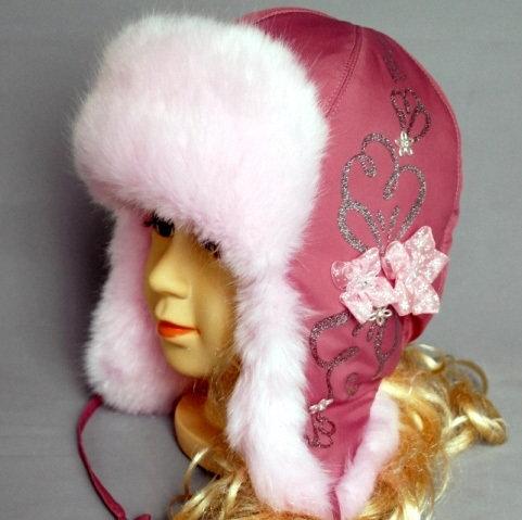 Зимняя шапочка ЛИЛИАНА, сливовый