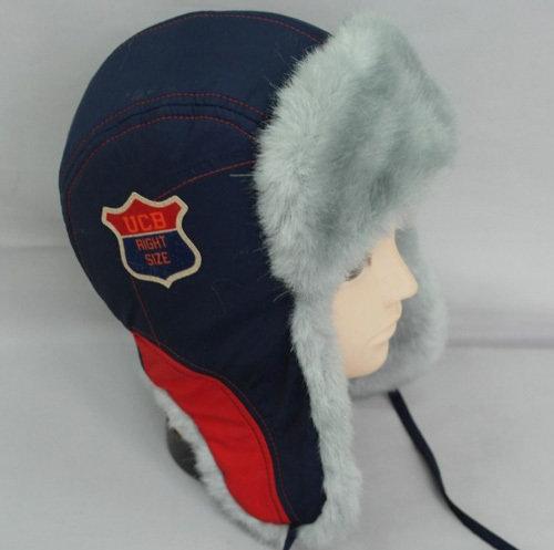 Зимняя шапочка ИГОРЬ, темно-синий