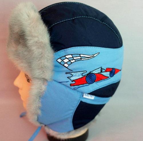 Зимняя шапочка ФАНАТ, темно-синий
