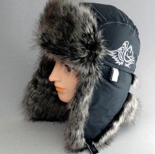 Зимняя шапочка БАРС2, темно-серый