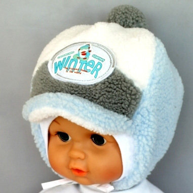Зимняя шапочка ДАНИЛКА, светло-голубой